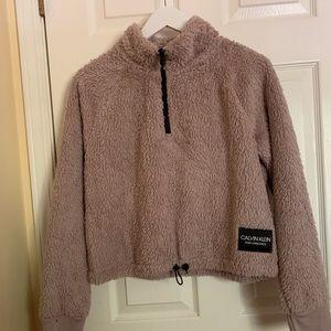 Calvin Klien performance fleece sweatshirt